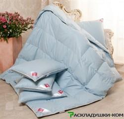 Одеяло Легкие сны Камелия теплое - Серый гусиный пух 1 категории - фото 10165