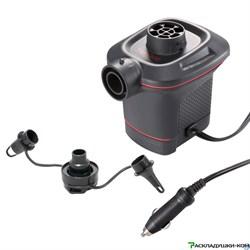 Автомобильный электронасос  работает от прикуривателя 12v Intex 66636 - фото 15152