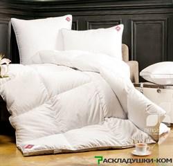 """Одеяло """"Лоретта"""" 200х220 Теплое - Серый гусиный пух категории """"Экстра"""" - фото 8192"""