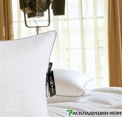 "Подушка «Bliss»  50х68 - Серый пух сибирского гуся категории ""Экстра"" - фото 8470"