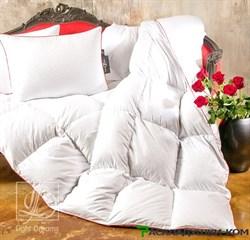 """Одеяло Lucky Dreams Desire, легкое - Серый пух сибирского гуся категории """"Экстра"""" - фото 8659"""