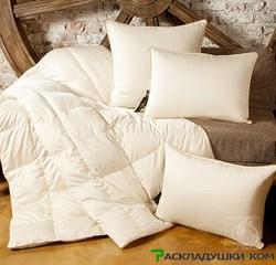 """Одеяло Lucky Dreams Sandman, легкое - Серый пух сибирского гуся категории """"Экстра"""" - фото 8691"""