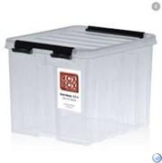 """Ящик пластиковый с крышкой """"RoxBox"""" 4.5 л, прозрачный 170x180x210 см"""