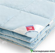 """Одеяло """"Камелия"""" 110х140 Легкое - Серый гусиный пух 1 категории"""